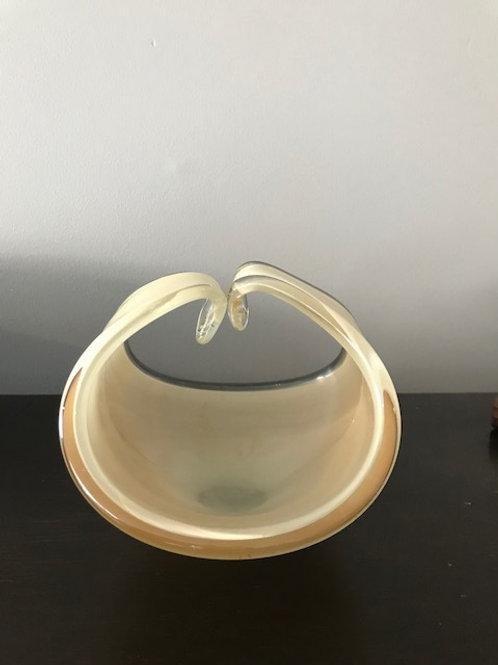 Mid Century 1950's- 1960's Art Glass