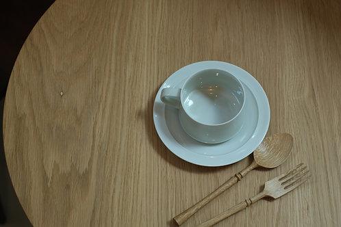 """""""Moonlight"""" cup & saucer"""