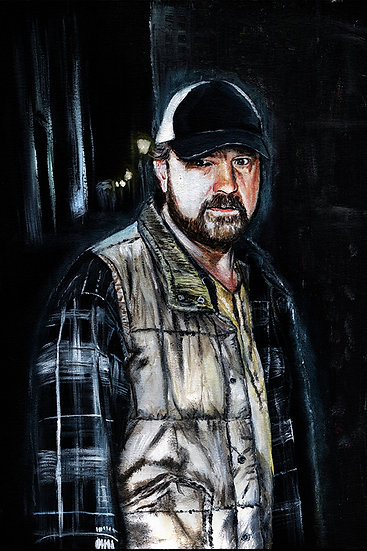 Supernatural Jim Beaver as Bobby Singer front view