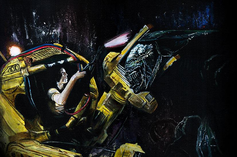 Aliens, Alien Queen, Ripley, Sigourney Weaver