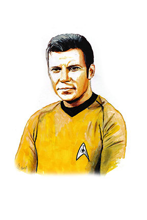 star trek, captain james T kirk