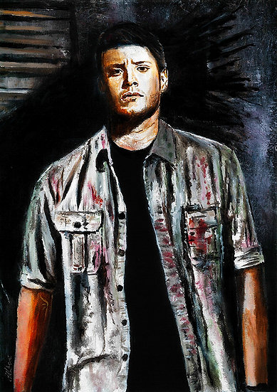 Jensen Ackles as Dean Winchester front view