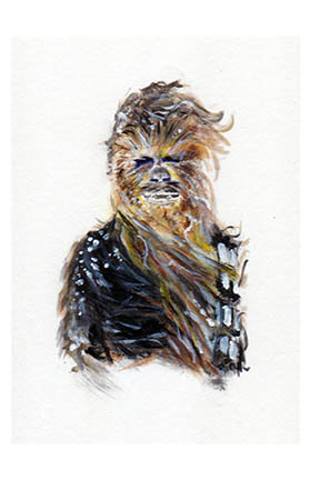 star wars chewbacca chewie wookie
