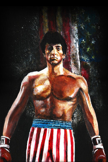 Sylvester Stallone as Rocky Balboa front view