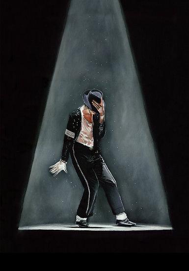 Michael Jackson Billie Jean spotlit front view