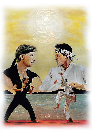 Cobra Kai Karate Kid Daniel Larusso Johnny Lawrence Martial arts