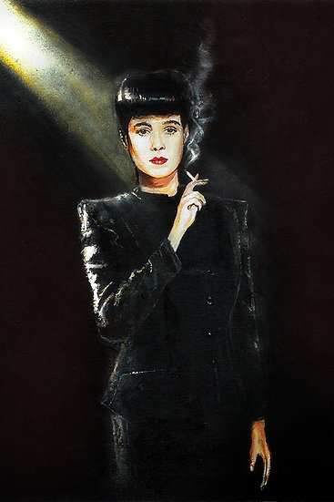 Blade runner Sean Young as Rachael front view