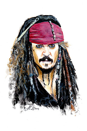 jack sparrow, pirates of the caribbean, johnny depp