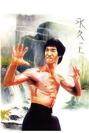 Bruce Lee front view