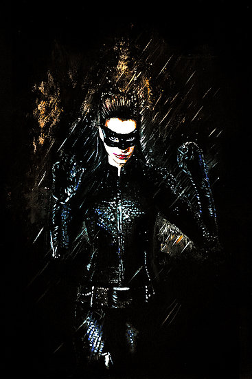 Anne Hathaway Catwoman front view
