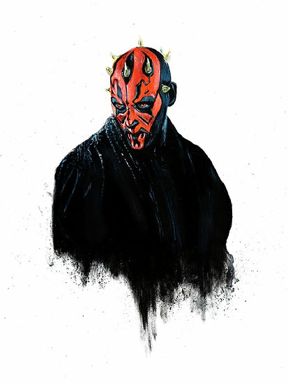 Darth Maul broody front view