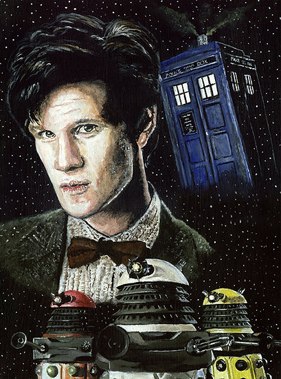 dr who, doctor, timelord, eleventh doctor, dalek, matt smith, tardis