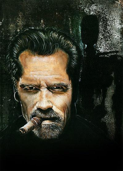 arnold schwarzenegger, arnie, terminator, cyborg, movies, i'll be back