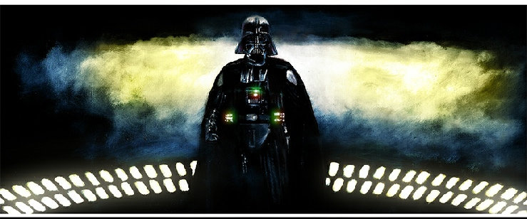 Darth Vader from Rogue One front view
