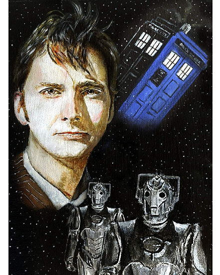 dr who, doctor, timelord, tenth doctor, cybermen, david tennant, tardis