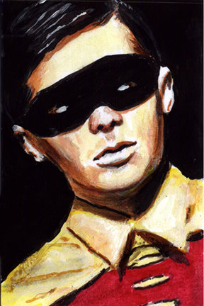 batman, robin, burt ward