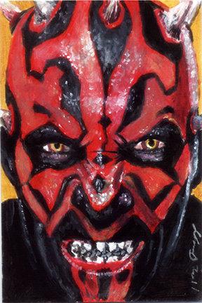 star wars, darth maul, the phantom menace, the clone wars, sith