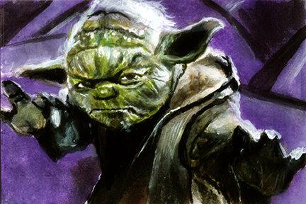 star wars, yoda, attack of the clones, jedi master