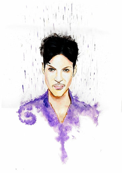 Prince purple front view