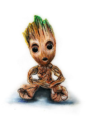 baby groot guardians of the galaxy marvel avengers