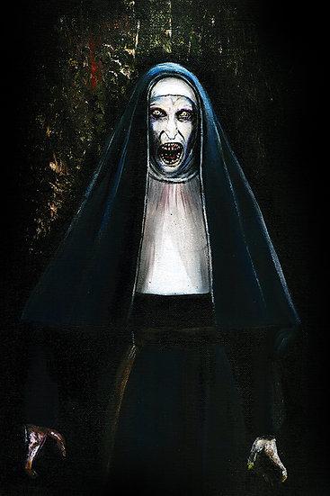 the nun, nun, conjuring,  anabelle, horror, valak