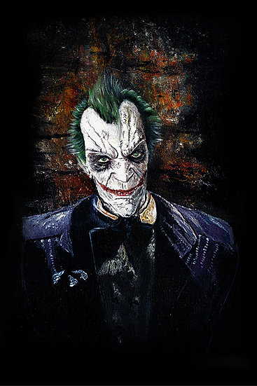Batman Arkham Joker front view