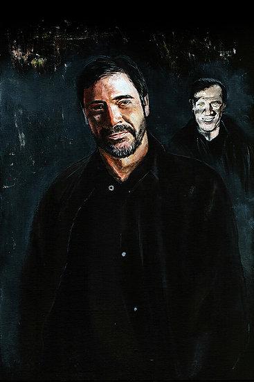 Supernatural Jeffrey Dean Morgan as John Winchester front view