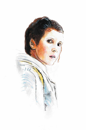 star wars, princess leia, carrie fisher