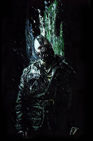 Tom Hardy Bane front view