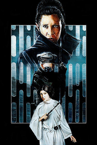 star wars, princess leia, general organa, carrie fisher, death star, boushh