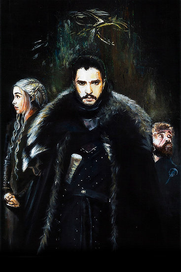 Game of Thrones Jon Snow front view