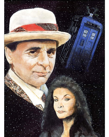 dr who, doctor, timelord, Sylvester McCoy, tardis, seventh doctor