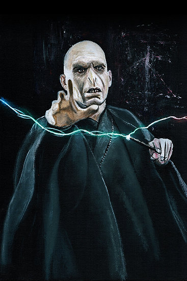 Voldermort, the dark, lord, with wand, evil