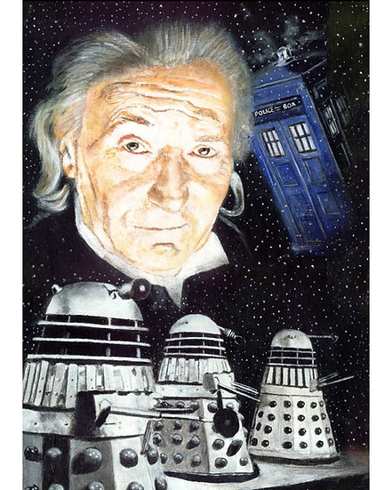 dr who, doctor, timelord, first doctor, dalek, william hartnell, tardis