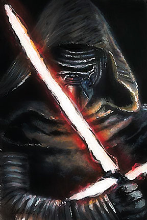 kylo ren, adam driver, sith, force awakens, star wars