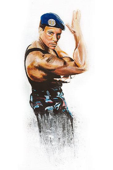 Jean Claude Van Damme in Streetfighter, martial arts