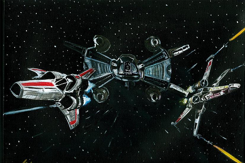 star wars, last starfighter, battlestar galactica, x wing, viper