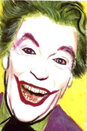 joker, adam west, batman, ceasar romero