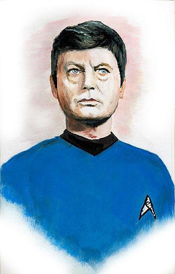 star trek, bones, McCoy, leonard McCoy, space, final frontier, enterprise, deforrest kelly
