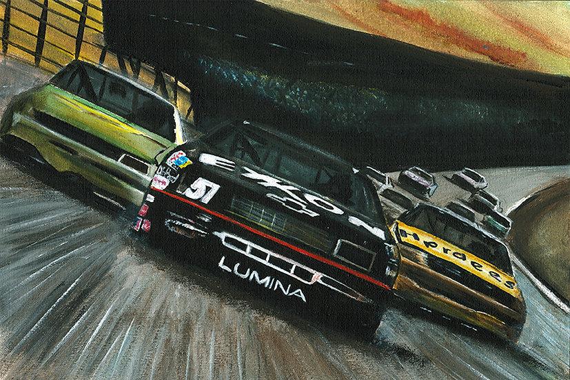 Days of thunder, tom cruise, cars, exxon, racing, nascar