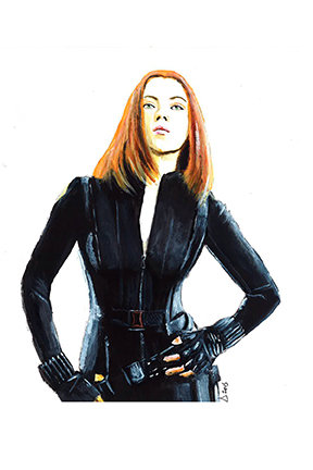 black widow, marvel, avengers, scarlet johannsen