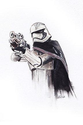 star wars, the force awakens, last jedi, captain phasma