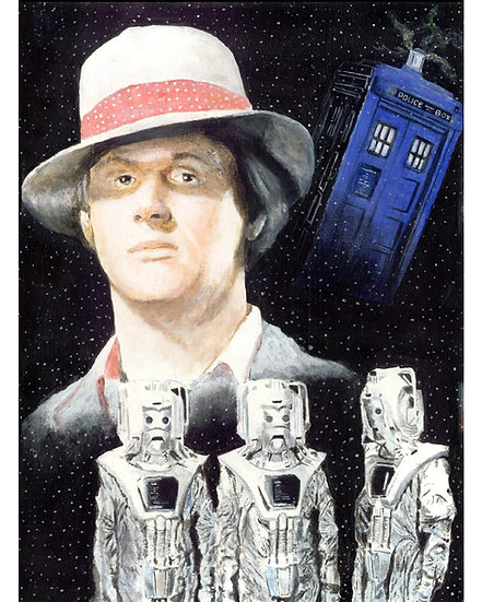 dr who, doctor, timelord, peter davison, tardis, cybermen, fourth doctor