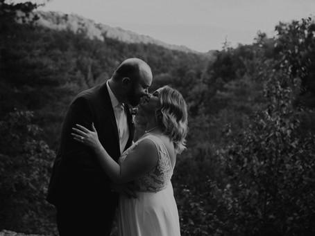 Emily & Eric [Ashcraft Wedding] • Slade, Kentucky