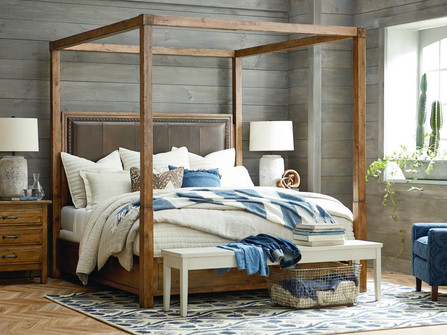 Rustic Bedroom furniture and decor