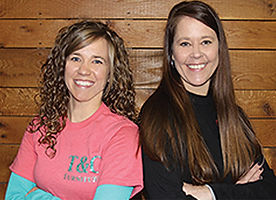 Interior Designers Kristen and Tina Dockery.