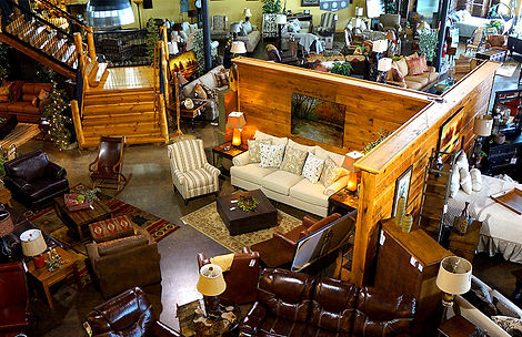 Town & Country's 55,000 square foot showroom located in beautiful Blue Ridge, Ga.