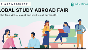 Meet us at the virtual Global Study Abroad Fair!