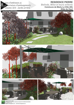 Nouveau jardin de particulier sur Marly-la-Ville (95)