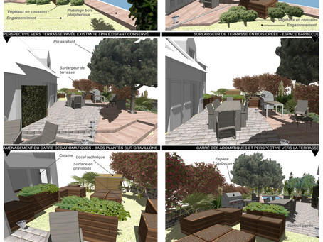 Un nouveau Jardin méditerranéen sur Montlignon (95)